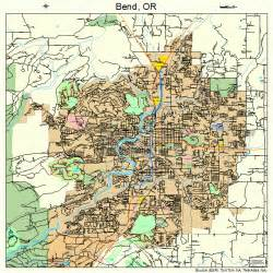 bend oregon map 4105800