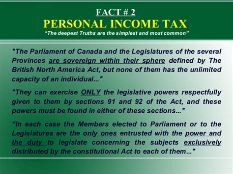 section 92 of income tax act proposal to the green party of canada 2014 foced election