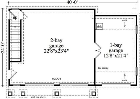 floor plans with detached garage 1 bedroom 1 bath cabin lodge house plan alp 09z9