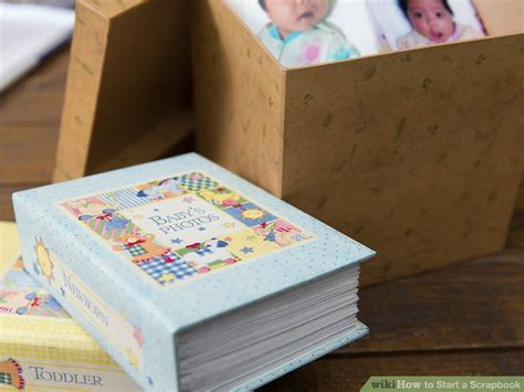 How to Start a Scrapbook (with Pictures)   wikiHow