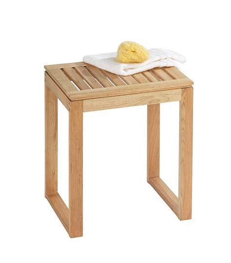 sgabello portabiancheria sgabello da bagno per appoggio in legno lgv shopping