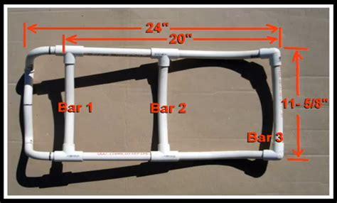 make a pvc pipe pack frame preparing for shtf