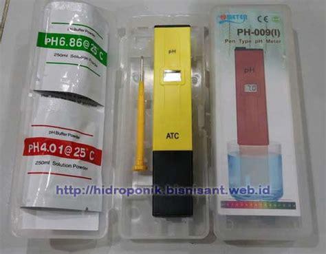 Alat Pengukur Ph Hidroponik tentang ph meter alat hidroponik