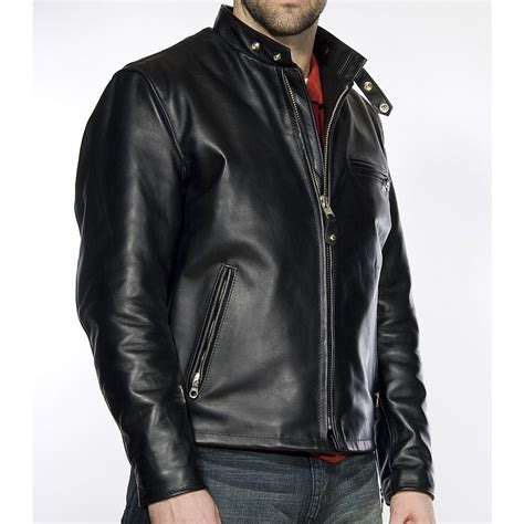 moto biker jacket racer leather motorcycle jacket