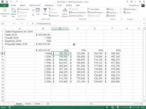 two variable data table excel how to calculate income in excel 2013 how to