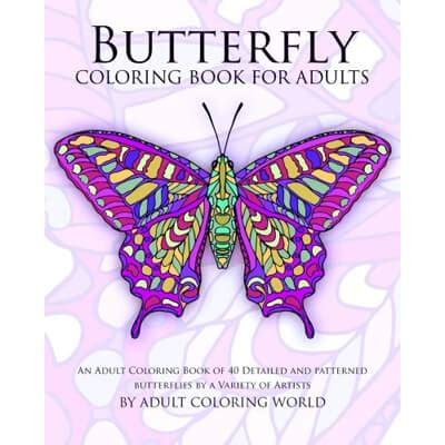 butterfly garden colouring book for adults books best advanced coloring books for and adults