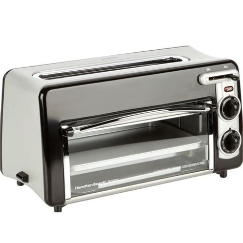 2 in 1 toaster convection oven compact 2 slice wide