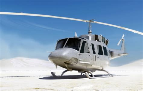 wallpaper bell uh  iroquois huey bell helicopter