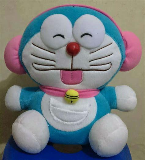 Boneka Bantal Kepala Garfield Jumbo boneka doraemon walkman pink m aneka bantal boneka