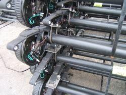 """dexter brand 4"""" drop 7000# brake axle complete"""