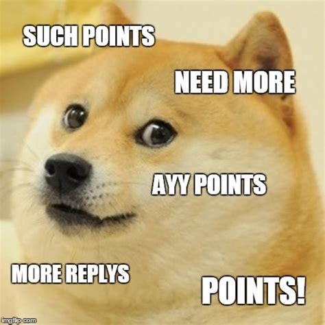 points doge imgflip