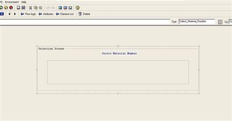 sap tutorial module pool sap abap 4 tutorial select options in module pool program