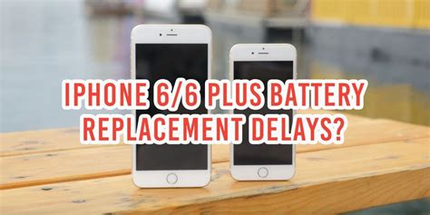 global iphone battery shortage means replacements may be delayed till early april
