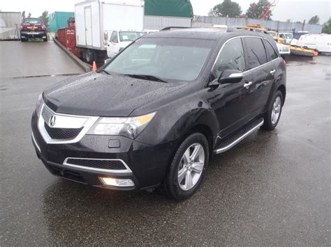 2011 acura mdx 3rd row seating 6 spd automatic w tech