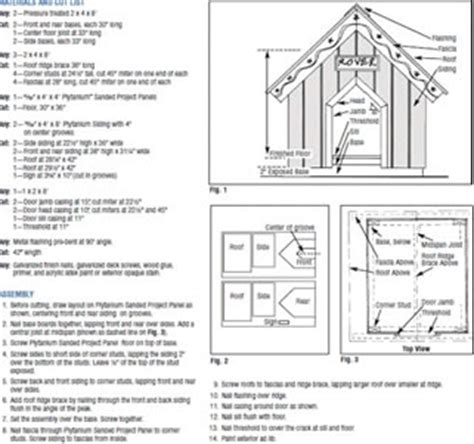 double dog house blueprints wood double dog house plans pdf plans
