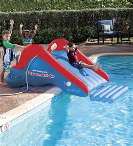 Backyard Water Slide Pool Slide Backyard Water Park Slip And Slide