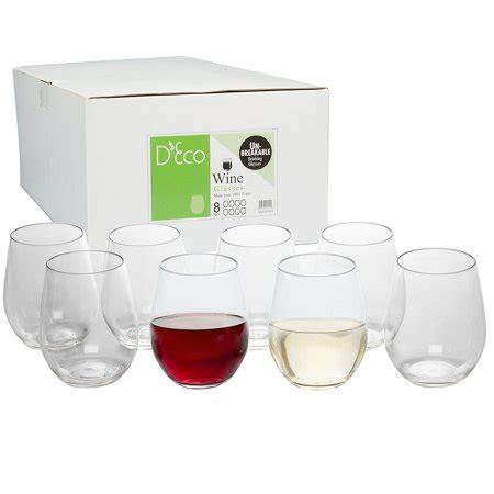 Unbreakable Barware by Unbreakable Wine Glasses 100 Tritan Shatterproof