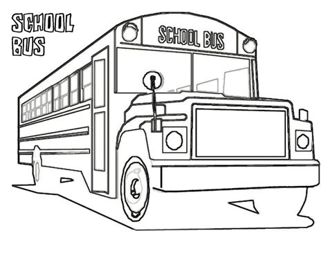 bus coloring page pdf free printable school bus coloring pages for kids