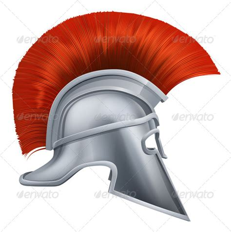 ancient greek warrior helmet graphicriver