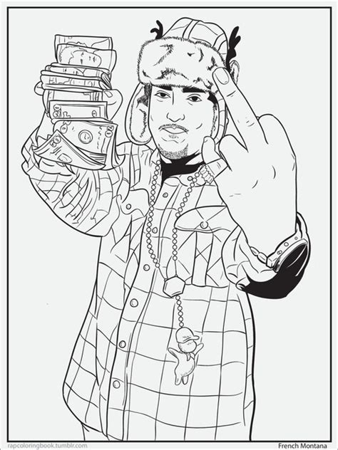 coloring pages rappers race relations rap colouring book