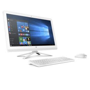 Hp 20 C304l All In One Desktop Pc achat hp 24 g090nf blanc ordinateur de bureau amd a8
