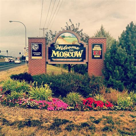 Moscow, Idaho   Oh the places we will go   Pinterest