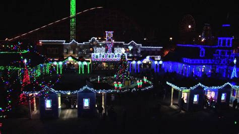 lake compounce holiday lights 2012 youtube