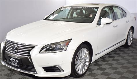 lexus sedan white 2013 lexus ls 460 sedan for sale used cars on buysellsearch