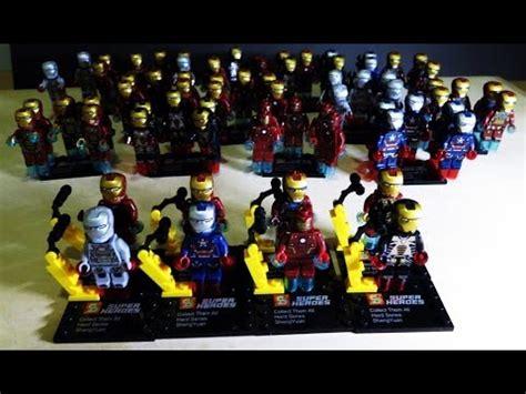 Lego Bootleg Ironman Minifigure 03 lego marvel superheroes iron sheng yuan bootleg review edit
