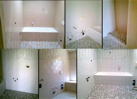mosaico vetro bagno pareti in vetro bagno trova le migliori idee per mobili