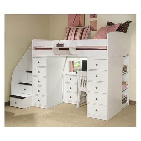 bunk bed with stairs and storage bunk bed with storage stairs and desk 28 images bunk