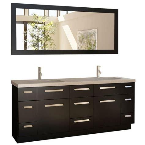 home depot design element vanity design element moscony 72 in w x 22 in d double vanity