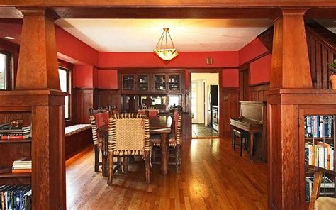 craftsman style dining room craftsman pinterest