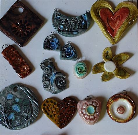 Paper Clay Jewelry - 51 best images about air paper clay inspiration on