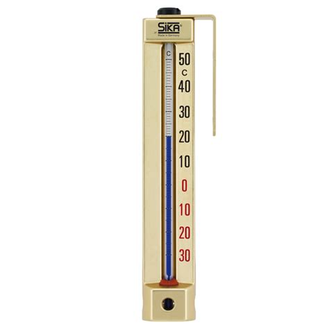 Thermometer Sika room thermometer type 278 type 378 sika messtechnik
