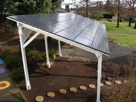 Solar Trellis bipv energy design