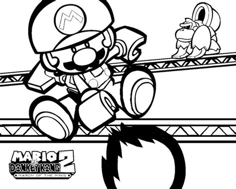 mini mario coloring pages how to draw mario fire