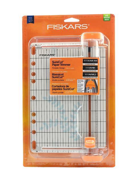Paper Trimmers For Card - fiskars surecut personal paper trimmers misterart