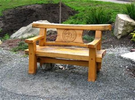 japanese wood bench japanese timber bench japanese style pinterest benches