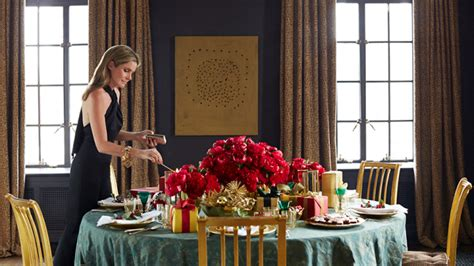Two Bedroom Homes Aerin Lauder S Holiday Hosting Tips Stylecaster