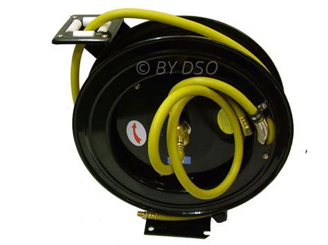 Air Hose Reel 8 M Plastik Top Quality Perkakas Angin Selang hilka trade quality 50ft 15m heavy duty retractable air line hose reel ebay