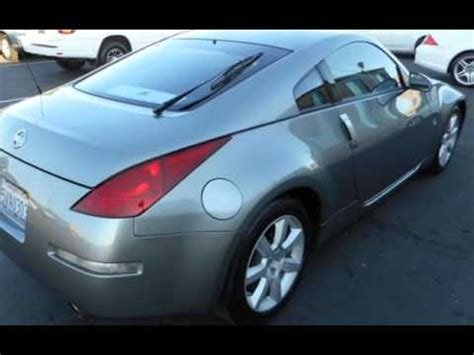nissan 350z for sale sacramento 2005 nissan 350z enthusiast 6 speed manual for sale in