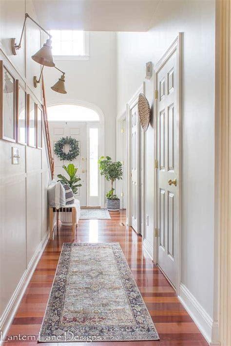 hallway decorating ideas  narrow hallways