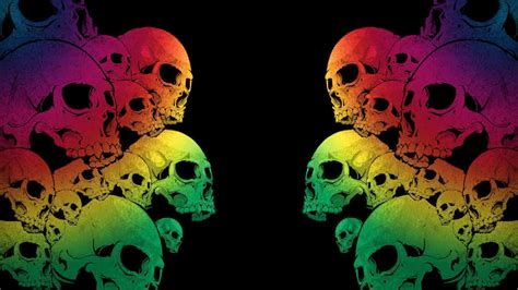 wallpaper background skull skull wallpapers hd wallpaper cave