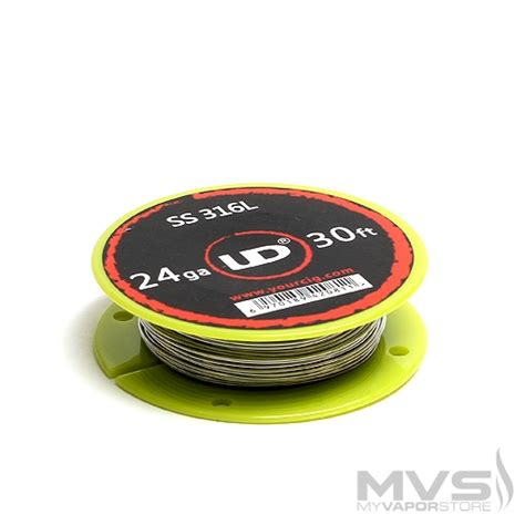 Sale Ud Ss 316l 26 Ga 30 Youde Stainless Steel 26 Awg youde ud stainless steel 316l wire 30ft