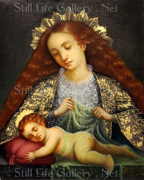 Custom Wall Murals From Photo virgin amp child ii 3 copy classic renaissance painting