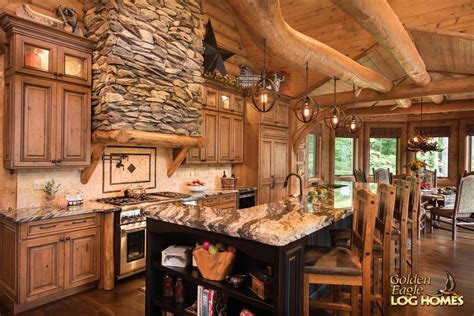Lake Cabin Kits by Golden Eagle Log And Timber Homes Log Home Cabin