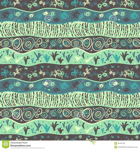 grass pattern drawing seamless pattern with drawing abstract waves gras royalty