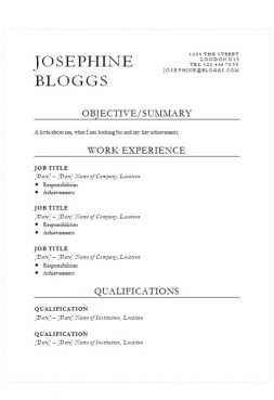 Cv Template Collection 121 Free Cv Templates In Microsoft Word Format Microsoft Word Curriculum Vitae Template