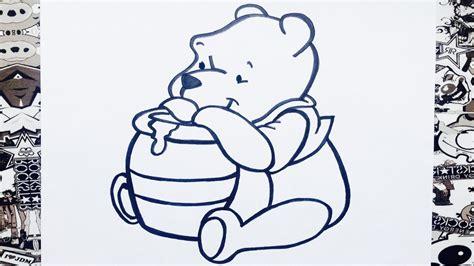imagenes de winnie pooh de amor para dibujar como dibujar a winnie pooh how to draw winnie the pooh
